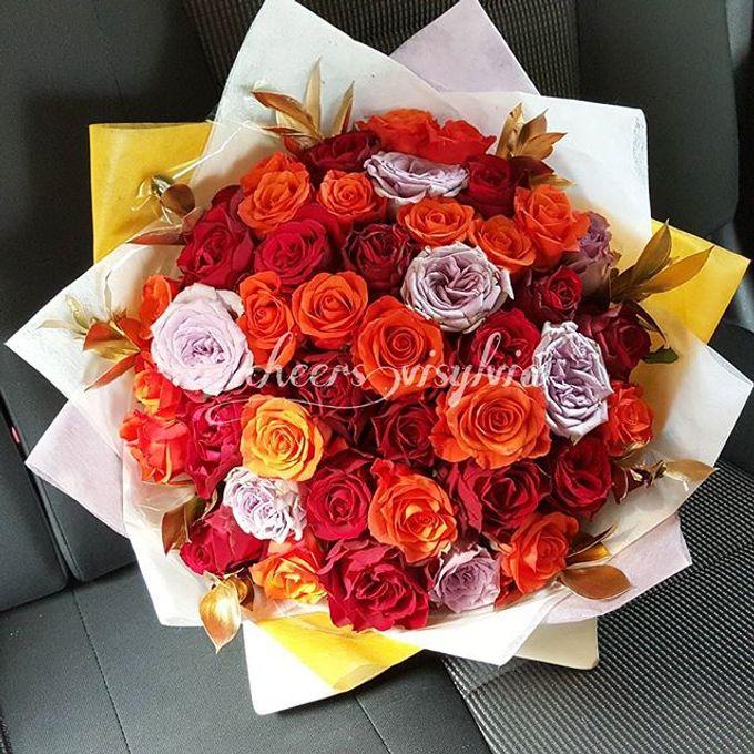 Gift Bouquet  by visylviaflorist - 022