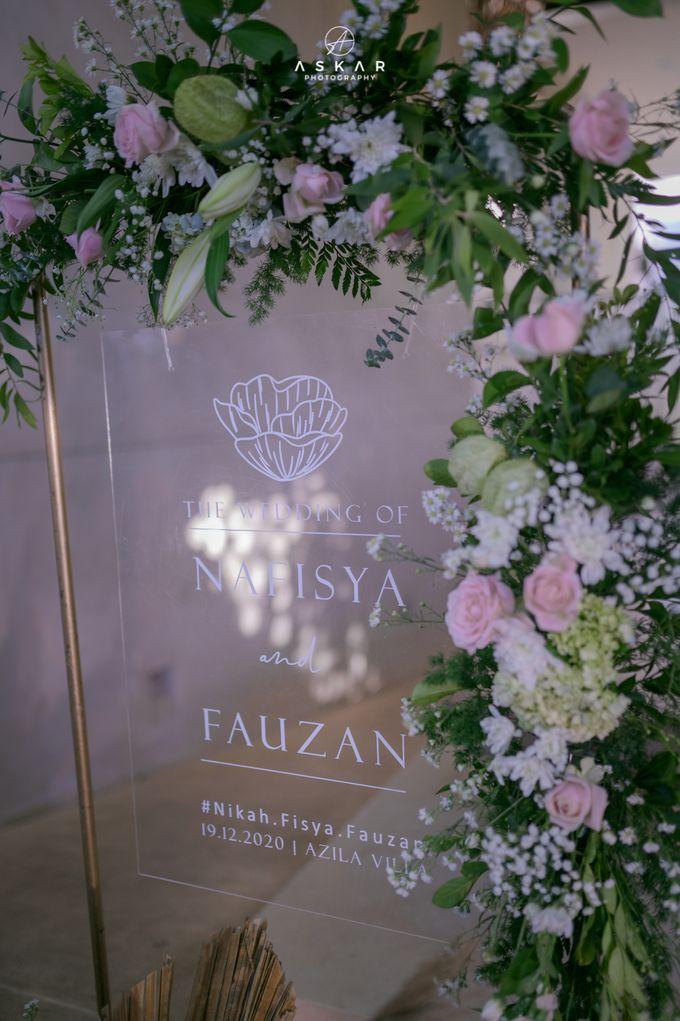 Wedding Nafisya & Fauzan by Azila Villa - 004