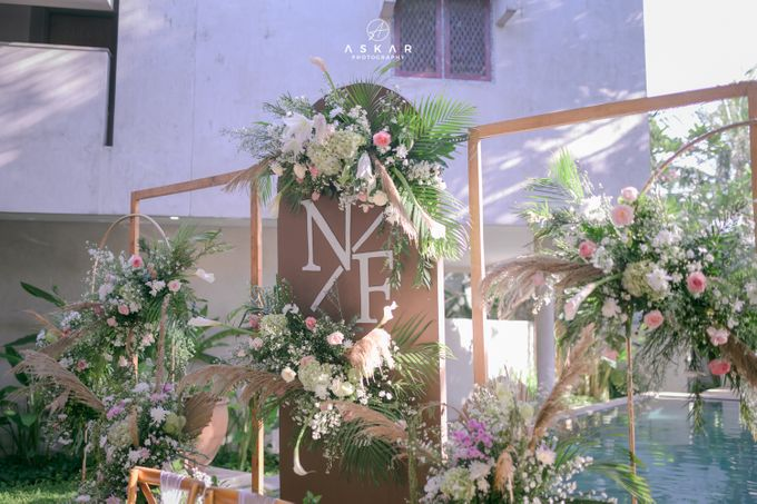 Wedding Nafisya & Fauzan by Azila Villa - 009