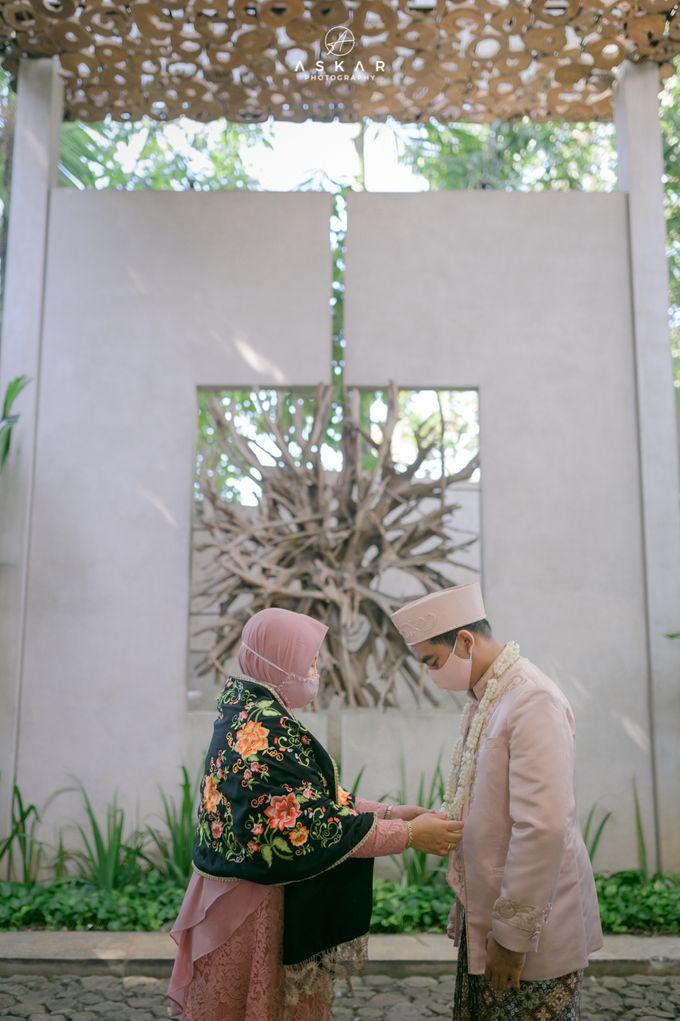 Wedding Nafisya & Fauzan by Azila Villa - 016