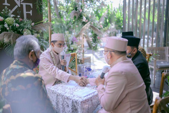 Wedding Nafisya & Fauzan by Azila Villa - 018