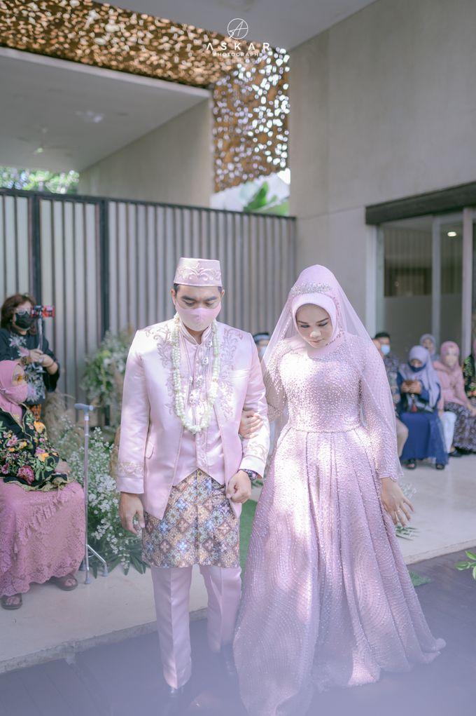 Wedding Nafisya & Fauzan by Azila Villa - 020