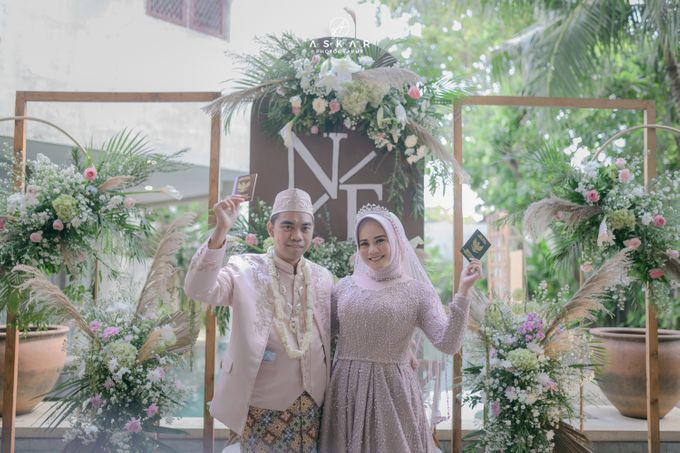 Wedding Nafisya & Fauzan by Azila Villa - 022