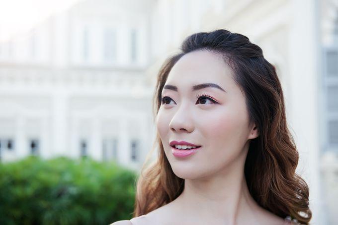 Natural yet elegant by Jen Lim Makeup Artist - 009