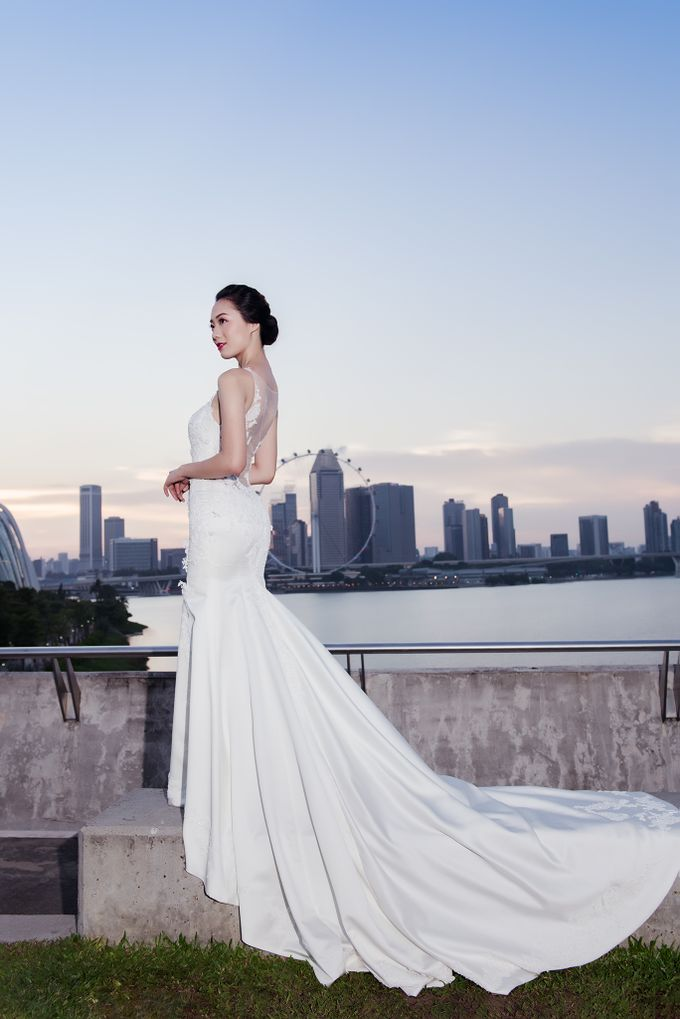 evening series by Yvonne Creative Bridal - 003