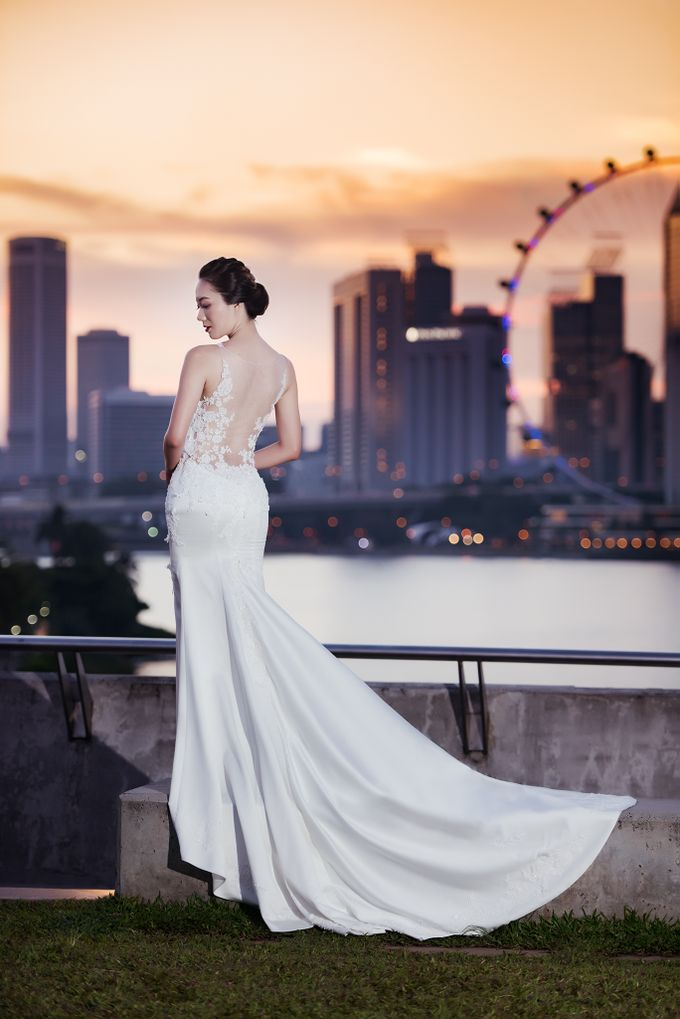 evening series by Yvonne Creative Bridal - 006