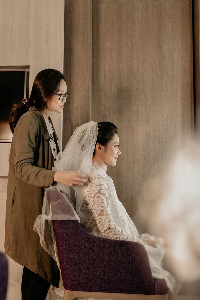 Vicky & Venita Wedding by Atelier de Marièe - 010