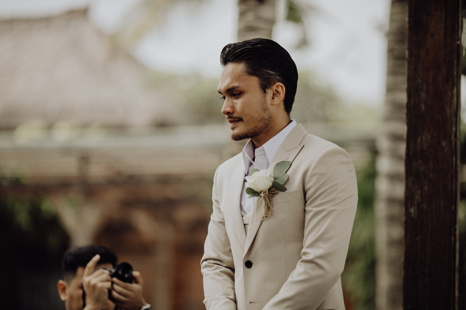 Randy Pangalila & Chelsey Frank's Wedding by Atham Tailor - 007