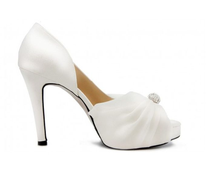 Custom Made Wedding Shoes by Kate Mosella Custom Made Shoes - 001