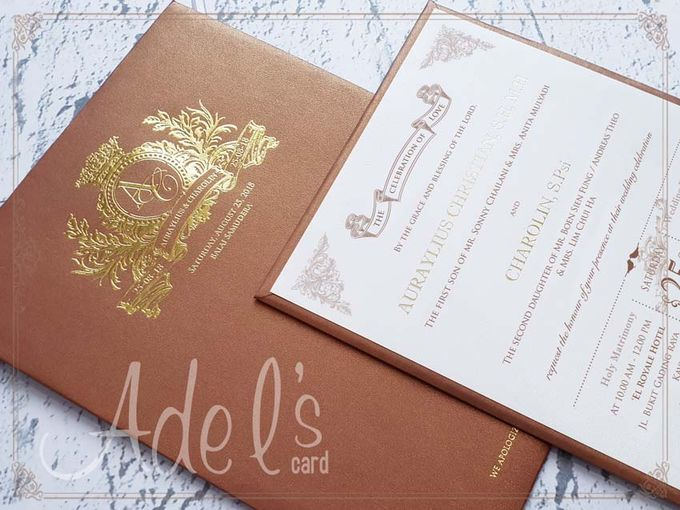 Hard Cover by Adel's House of card - 033