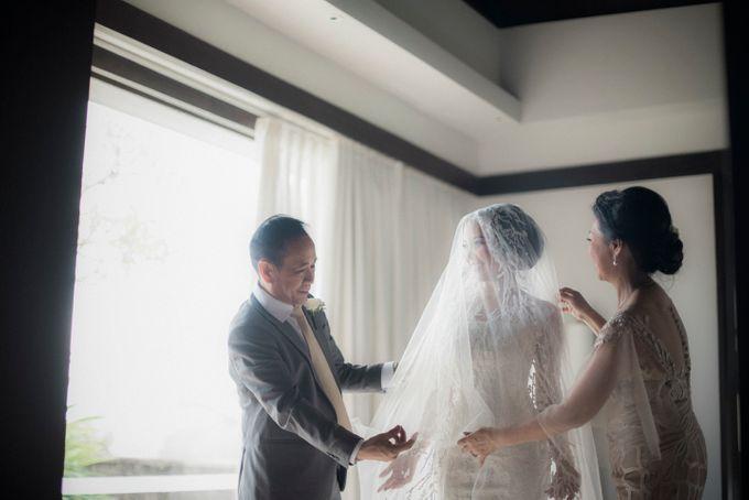 Anson & Vanessa Wedding at The Soori - Bali by Imelda Hudiyono Bride - 003