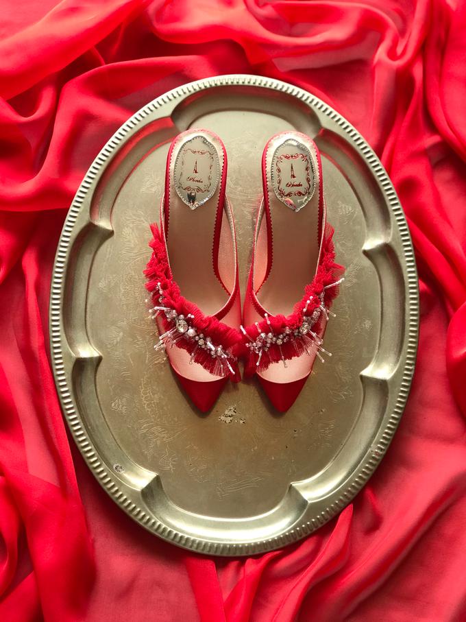 A POP OF RED by Aveda Footwear - 002
