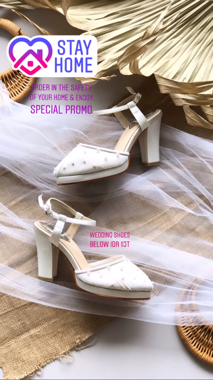 Stay Home & SAVE: Wedding Shoes below IDR 1jt by Aveda Footwear - 002