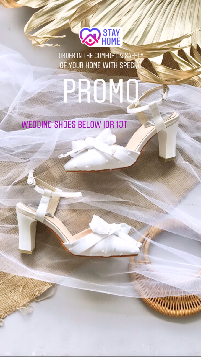 Stay Home & SAVE: Wedding Shoes below IDR 1jt by Aveda Footwear - 001