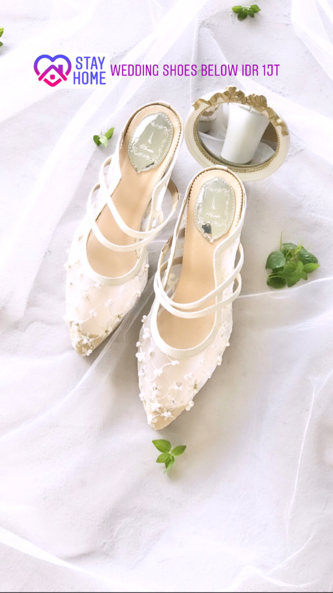 Stay Home & SAVE: Wedding Shoes below IDR 1jt by Aveda Footwear - 004