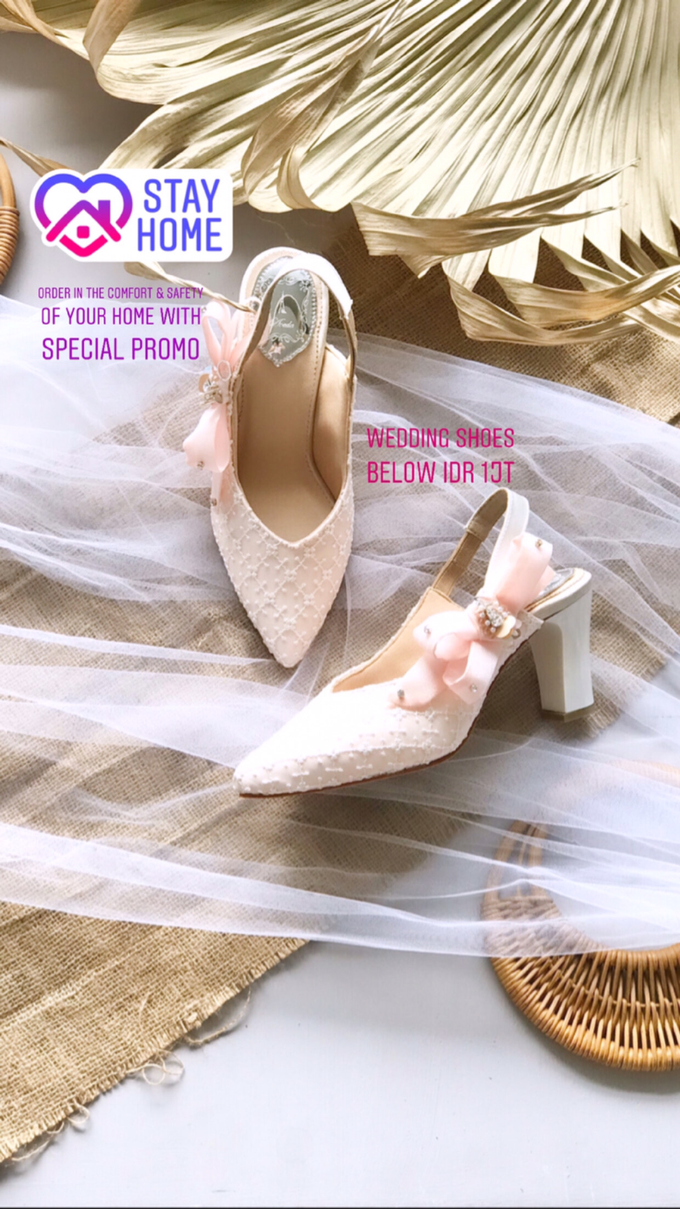 Stay Home & SAVE: Wedding Shoes below IDR 1jt by Aveda Footwear - 003