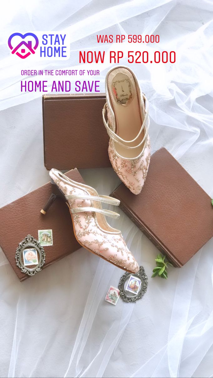 Stay Home & SAVE: Wedding Shoes below IDR 1jt by Aveda Footwear - 006