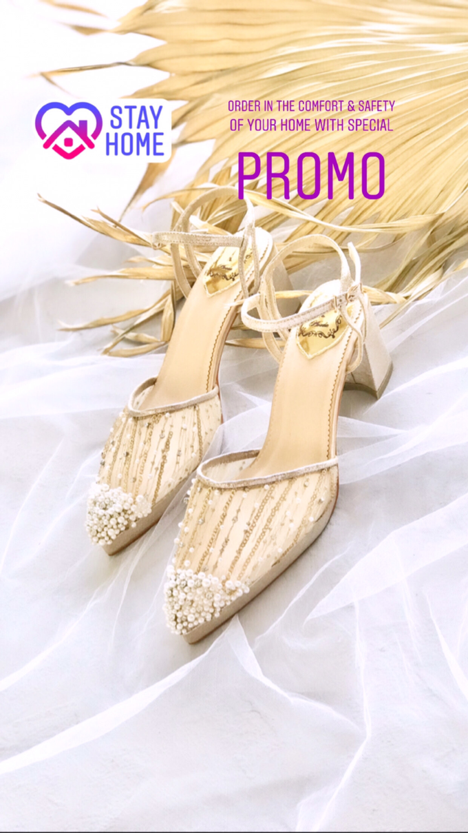 Stay Home & SAVE: Wedding Shoes below IDR 1jt by Aveda Footwear - 007