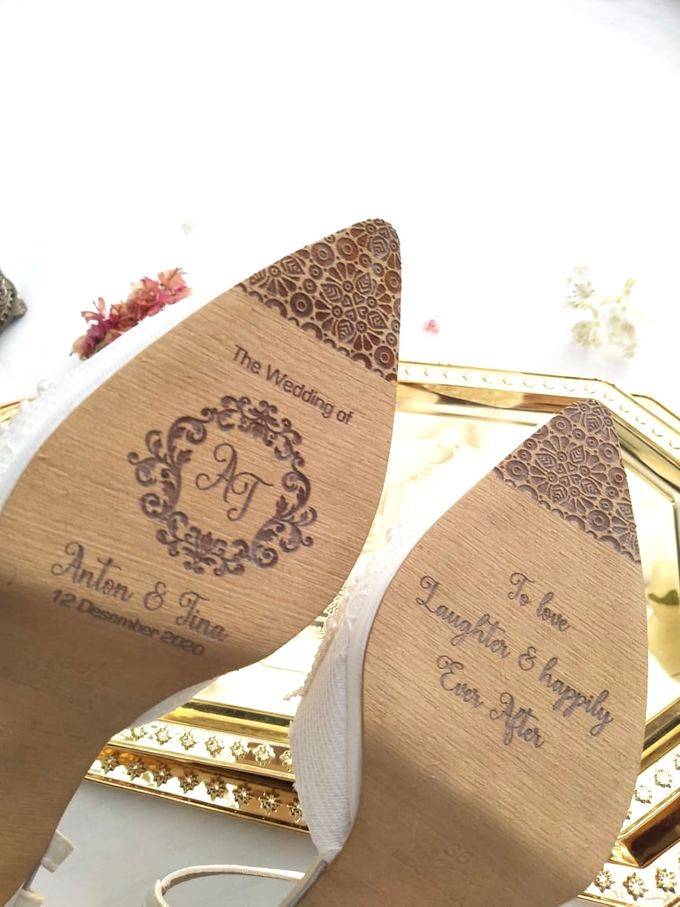 Personalised your Happily Ever After Wedding Shoes by Aveda Footwear - 003