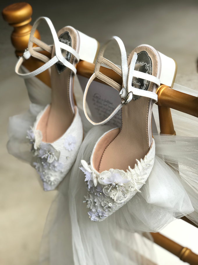 Personalised your Happily Ever After Wedding Shoes by Aveda Footwear - 002