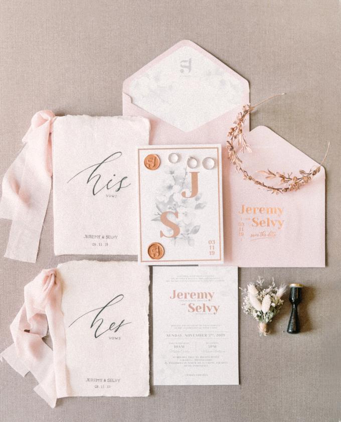 Jakarta wedding - Jeremy & Selvy by Trouvaille Invitation - 001
