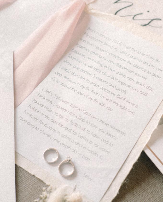 Jakarta wedding - Jeremy & Selvy by Trouvaille Invitation - 004