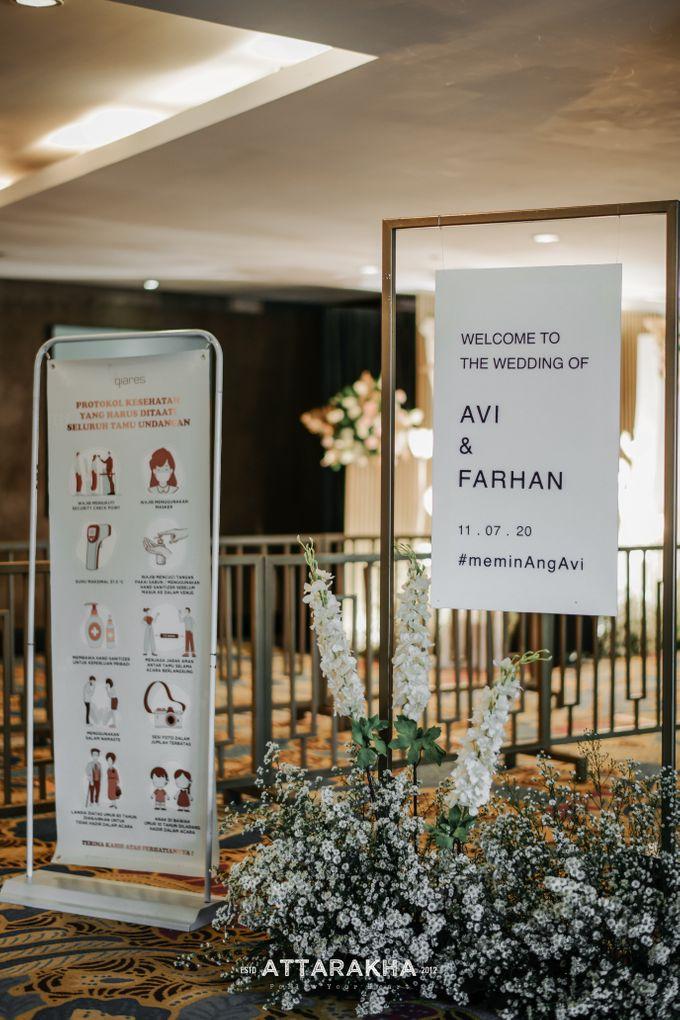 The Wedding of Avi and Farhan by Elior Design - 010