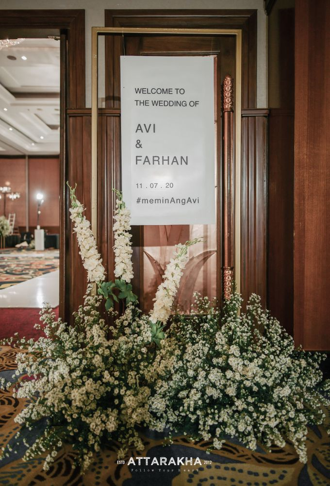 The Wedding of Avi and Farhan by Elior Design - 008