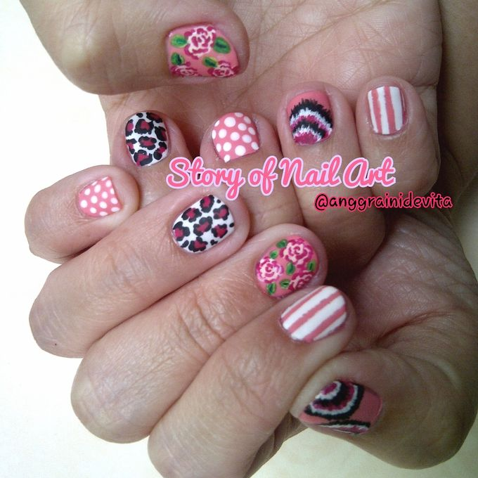 Painting Nails by Story of Nailart - 018