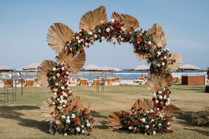 CELINE & PAUL WEDDING by Delapan Bali Event & Wedding - 039