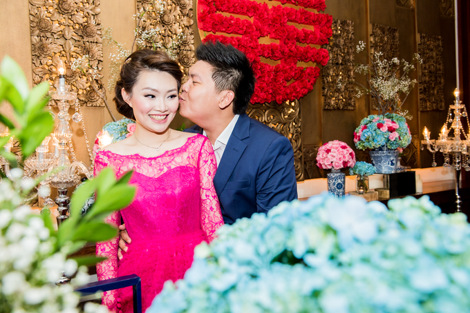 Ria & Andri - Chinese Wedding Traditions by Awarta Nusa Dua Resort & Villas - 008