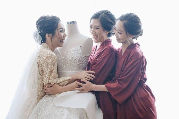 William & Selvi Wedding at Hilton Hotel by PRIDE Organizer - 001