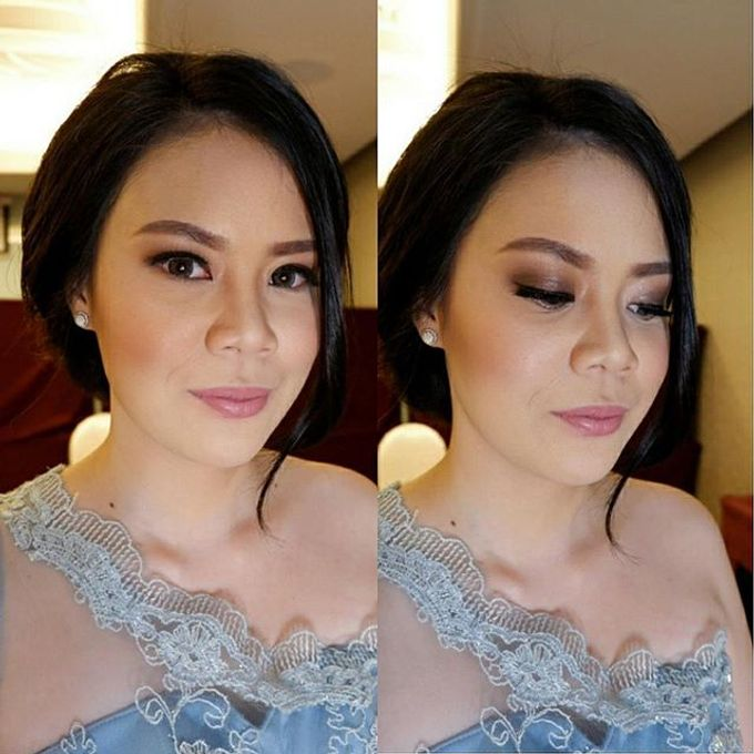 Glowing Makeup For Bridesmaids by MakeupbyDeviafebriani - 007