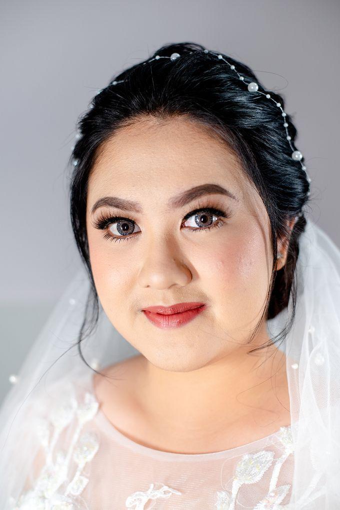 Wedding Makeup For Jenny by Satrisca Makeup Artist - 001