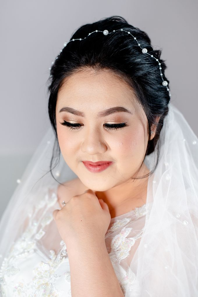 Wedding Makeup For Jenny by Satrisca Makeup Artist - 002