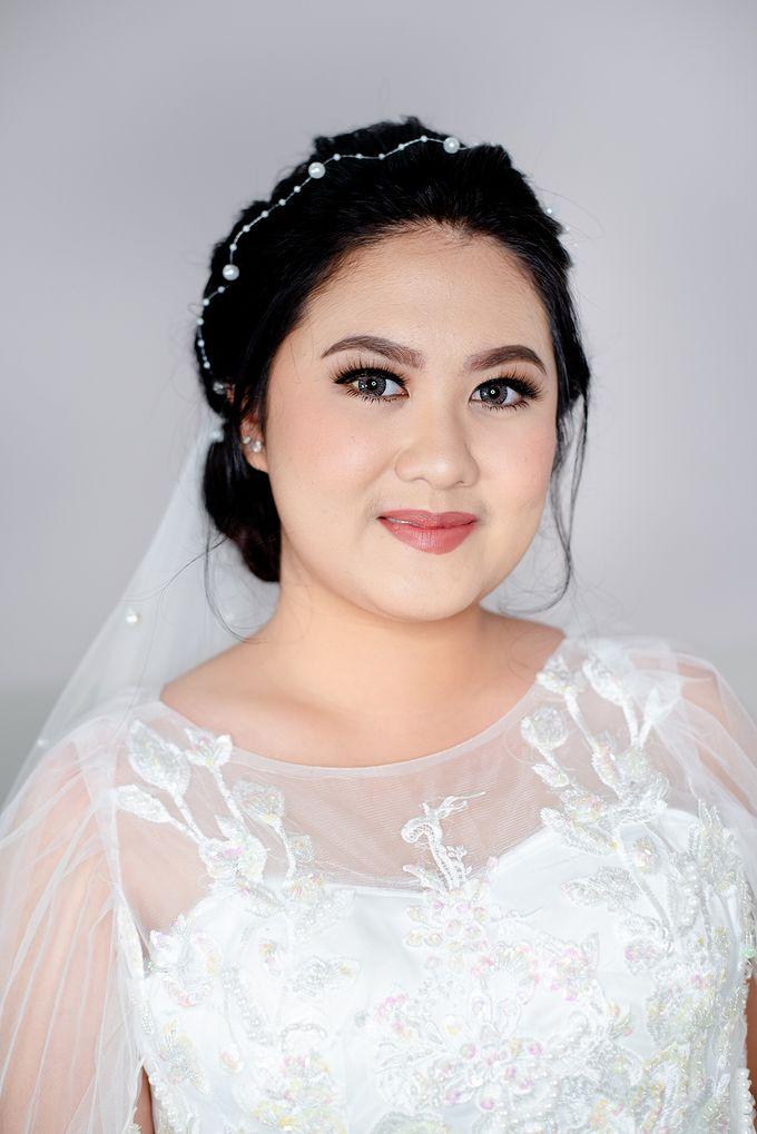 Wedding Makeup For Jenny by Satrisca Makeup Artist - 005