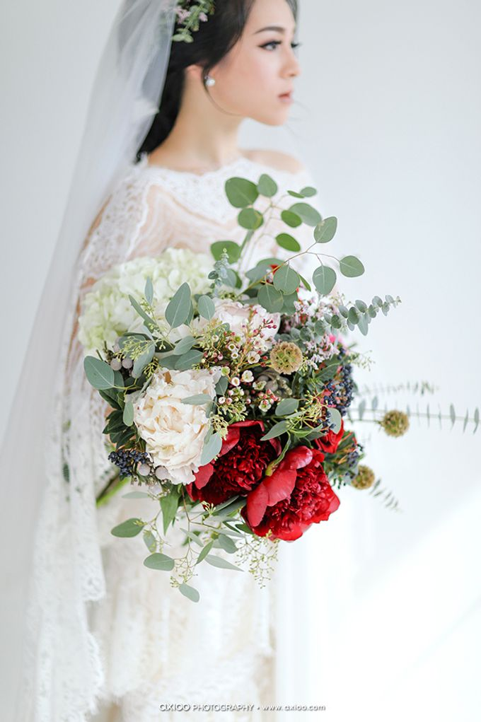 Artsy Bohemian Wedding of Nico & Felicia by Jennifer Natasha - Jepher - 002