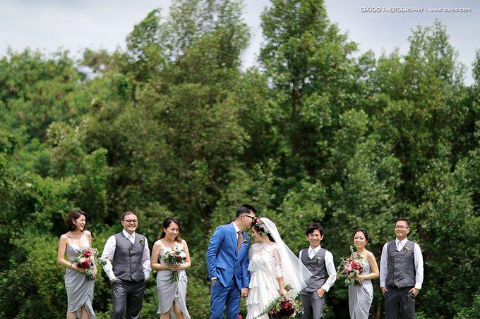 Artsy Bohemian Wedding of Nico & Felicia by Jennifer Natasha - Jepher - 010