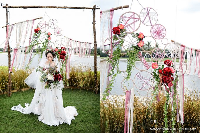 Artsy Bohemian Wedding of Nico & Felicia by Jennifer Natasha - Jepher - 004