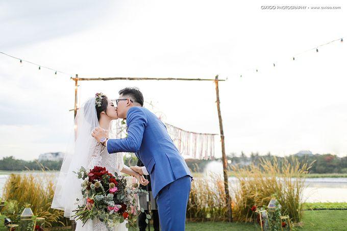 Artsy Bohemian Wedding of Nico & Felicia by Jennifer Natasha - Jepher - 009
