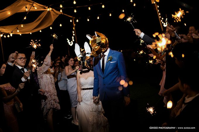 Artsy Bohemian Wedding of Nico & Felicia by Jennifer Natasha - Jepher - 005
