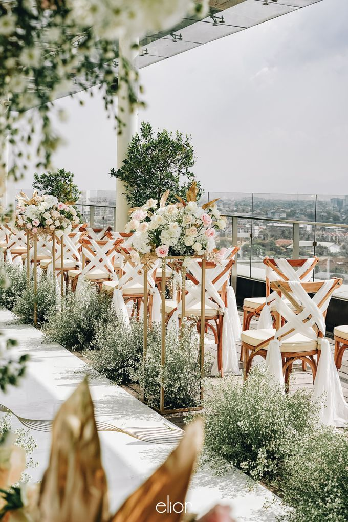 The Wedding of Aya and Dimas by Elior Design - 005