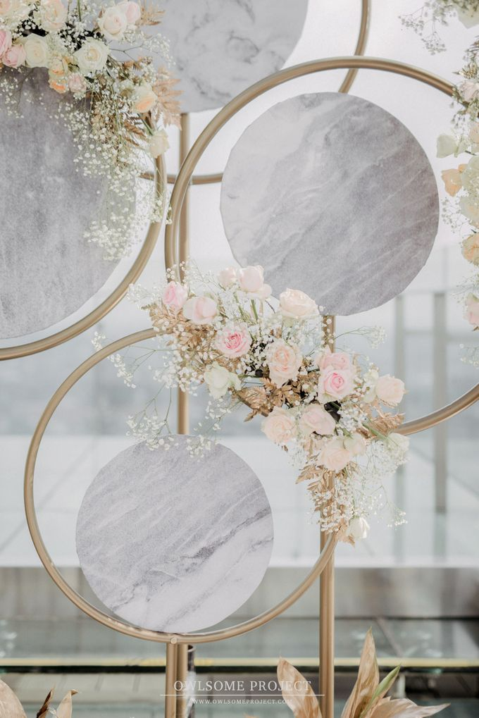 The Wedding of Aya and Dimas by Elior Design - 013