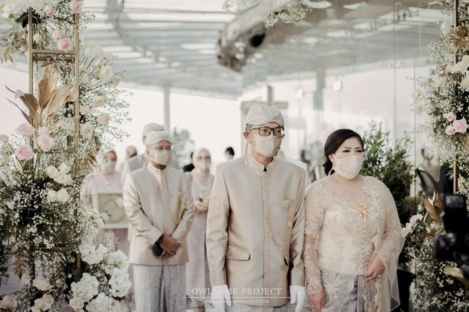 The Wedding of Aya and Dimas by Elior Design - 015