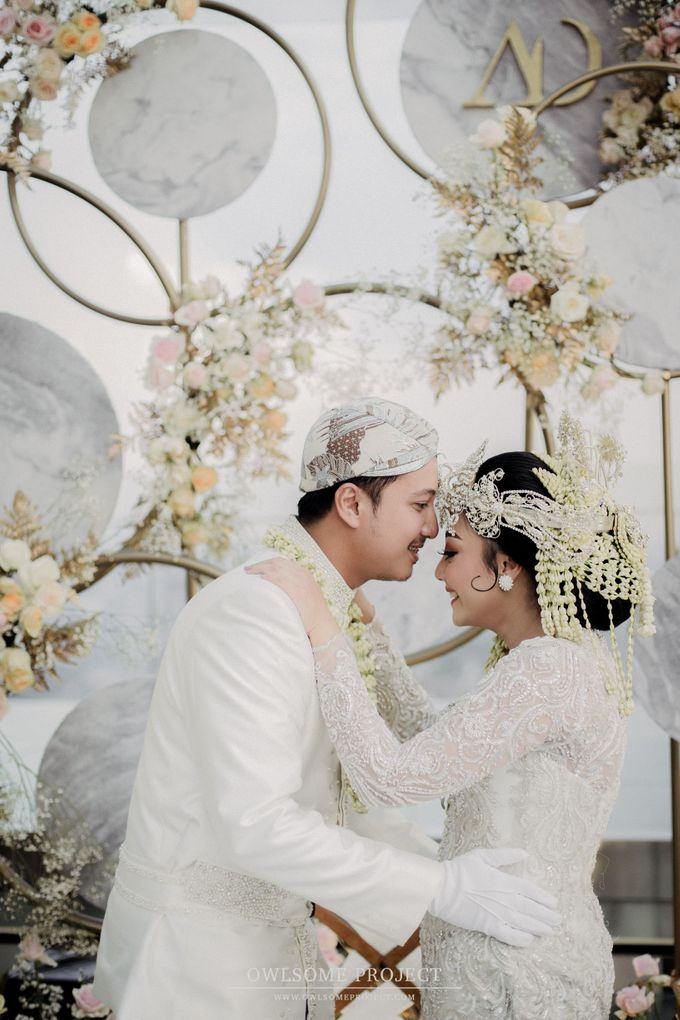 The Wedding of Aya and Dimas by Elior Design - 017