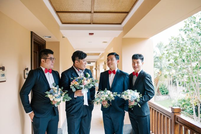 Ayana Bali Wedding |  Mengying & Yu Zhai by Eurasia Wedding - 005