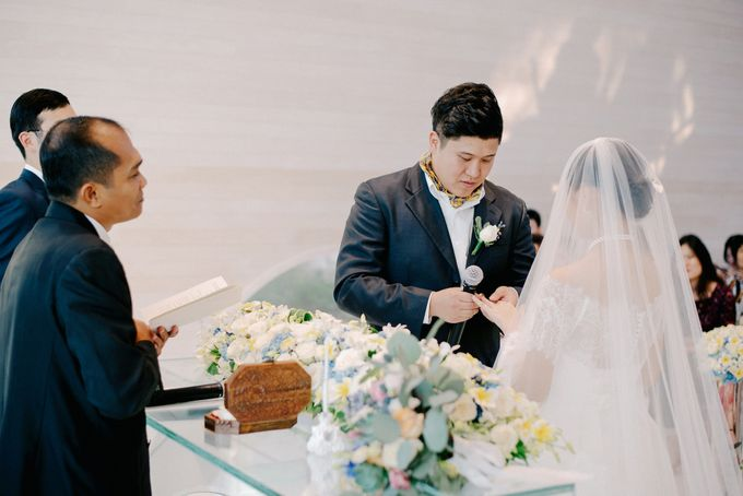 Ayana Bali Wedding |  Mengying & Yu Zhai by Eurasia Wedding - 021