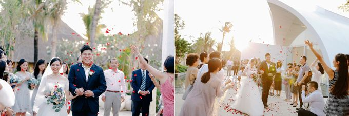 Ayana Bali Wedding |  Mengying & Yu Zhai by Eurasia Wedding - 026