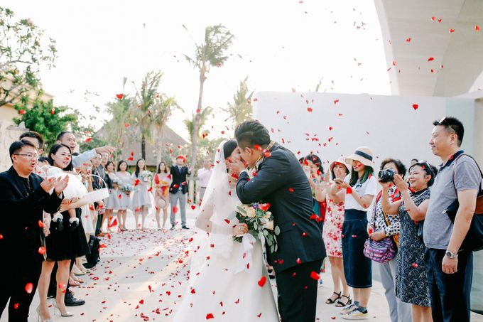 Ayana Bali Wedding |  Mengying & Yu Zhai by Eurasia Wedding - 027