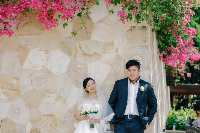 Ayana Bali Wedding |  Mengying & Yu Zhai by Eurasia Wedding - 030
